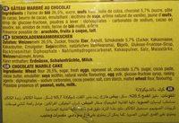 Savane - Ingrédients - fr