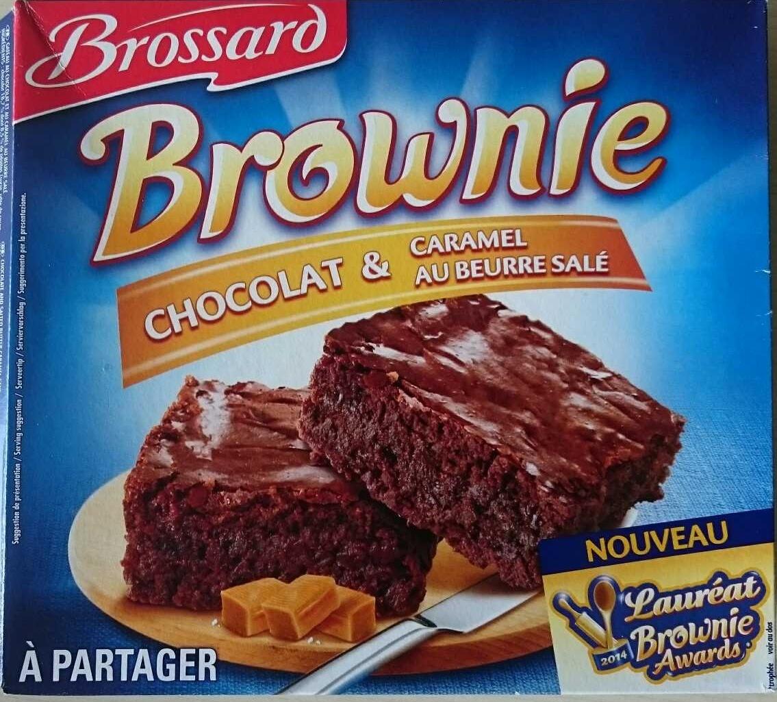 Brownie chocolat & caramel au beurre salé - Product