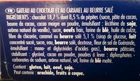Brownie chocolat & caramel au beurre salé - Ingrediënten