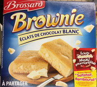 Brownie éclats de chocolat blanc à partager - Produit