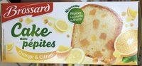 Cake aux pépites Orange & Citron - Produit - fr