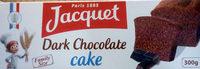 Dark Chocolate Cake (format familial) - Produit - fr