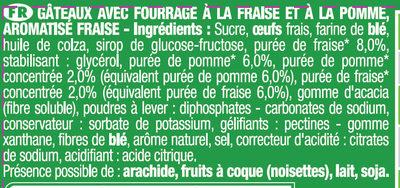 Savane jungle Fraise - Ingrediënten - fr