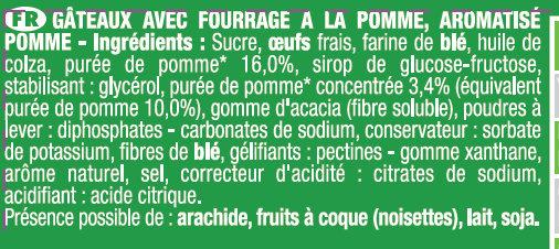 Savane Jungle Pomme - Ingrediënten