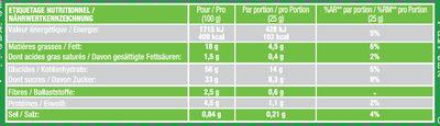 Savane Jungle Pomme - Voedingswaarden