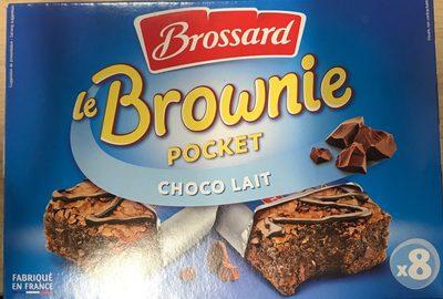 Le Brownie Pocket Choco Lait - Produit - fr