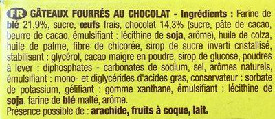 Savane Barr' - Ingrédients - fr