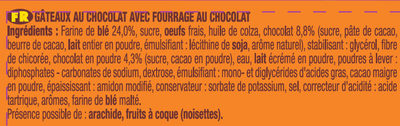 P'tit Savane Tout Chocolat - Ingredients