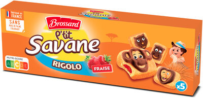 P'tit Savane Rigolo Fraise - Produit - fr