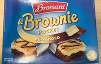 Le Mini Brownie Duo de Chocolats - Produit - fr