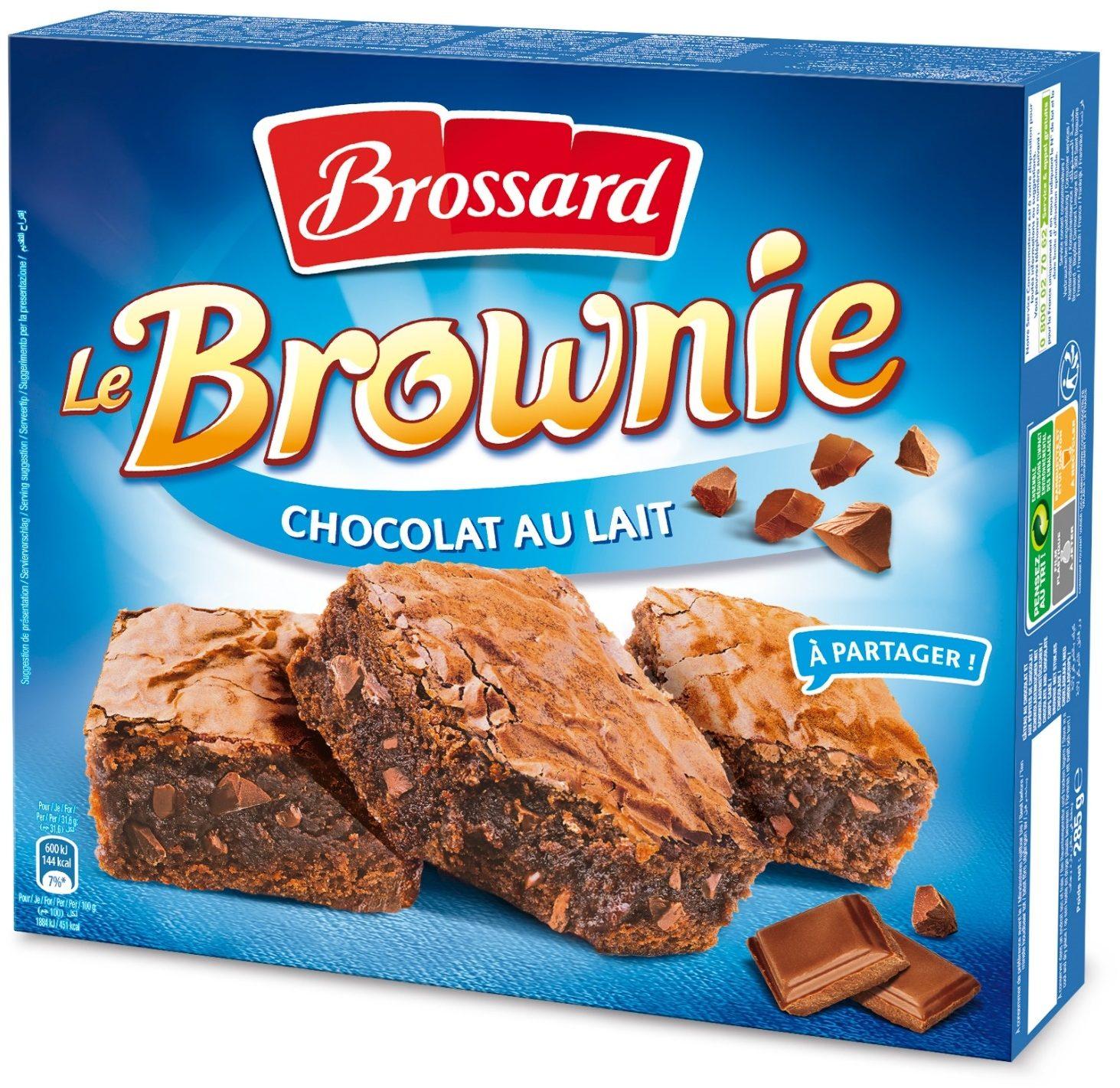 Le Brownie Chocolat au Lait - Produit