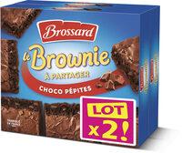 Brossard - lot 2 brownie chocolat pepites chocolat 285gr - Produit - fr