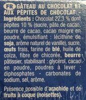 Le Brownie à partager - Ingrédients - fr