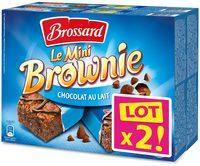 Le Mini Brownie Chocolat au Lait - Produit - fr
