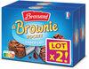 Brossard-lot2 mini brownie chocolat au lait x8 - Prodotto