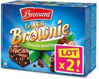 Le Mini Brownie Chocolat Noisettes Lot x2 - Produit - fr