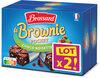 Brossard - lot2 mini brownie chocolat noisettes x8 - Prodotto