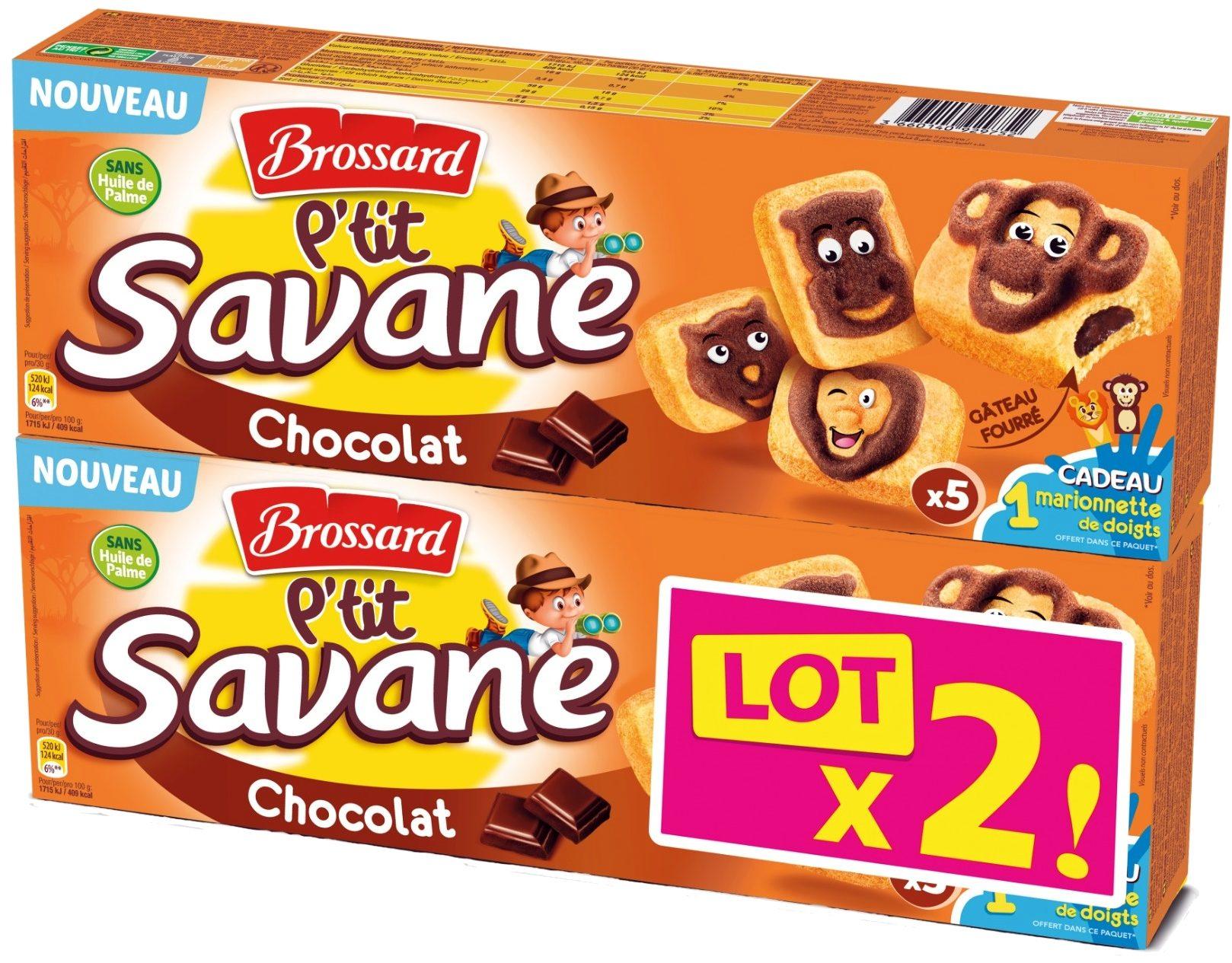 P'tit Savane Gâteau fourré Chocolat - Product - fr
