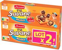 Lt2 p'tit savane rigolo fraise 150g - Product - fr