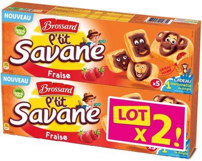 P'tit Savane Fraise Lot x2 - Produit - fr
