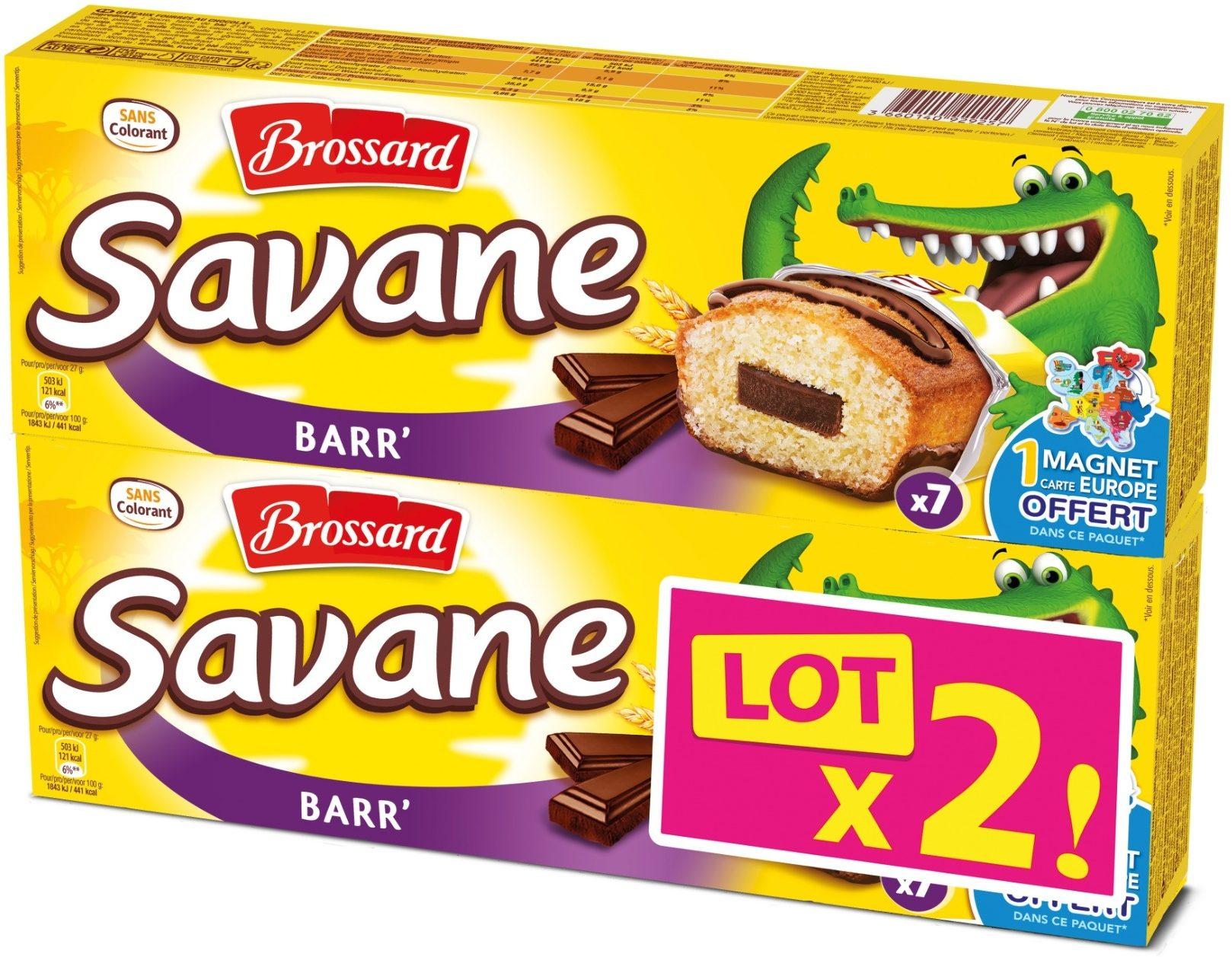 Savane - Gâteaux fourrés au chocolat - Product - fr