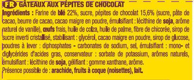 Lot 2 pocket x7 pepites 210g - Ingrediënten - fr