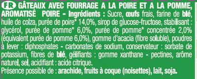 Savane Jungle Poire - Ingrédients - fr