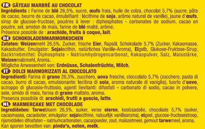 Savane le classique x2 - Ingrediënten - fr