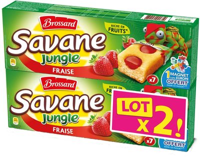 Savane Jungle Fraise LOT X2 - Product - fr