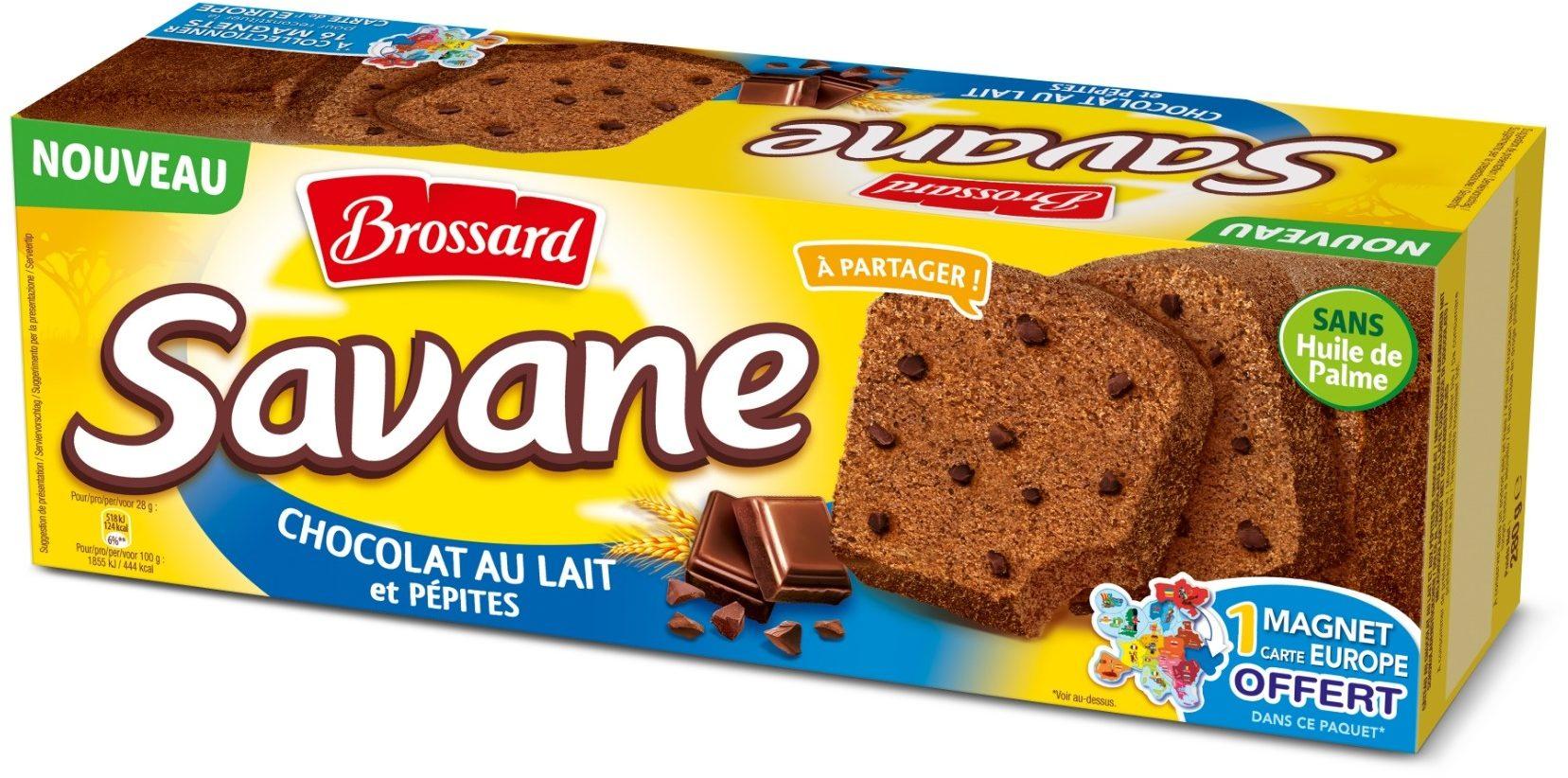 Savane Chocolat au Lait et Pépites - Produit - fr