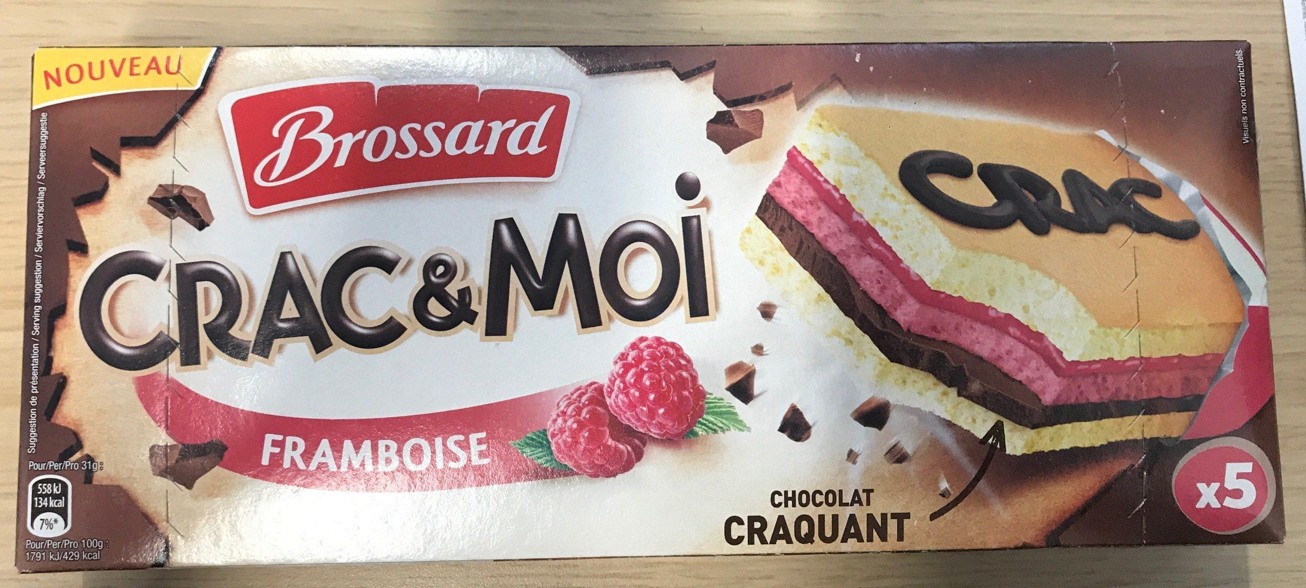 Crac & Moi Framboise - Product