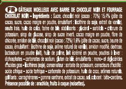 Crac & Moi Tout Chocolat - Ingrédients - fr