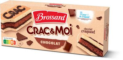 Crac&moi chocolat x5 - Produit - fr