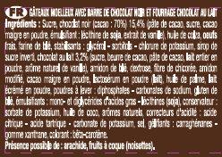 Crac & Moi Chocolat - Ingrédients - fr