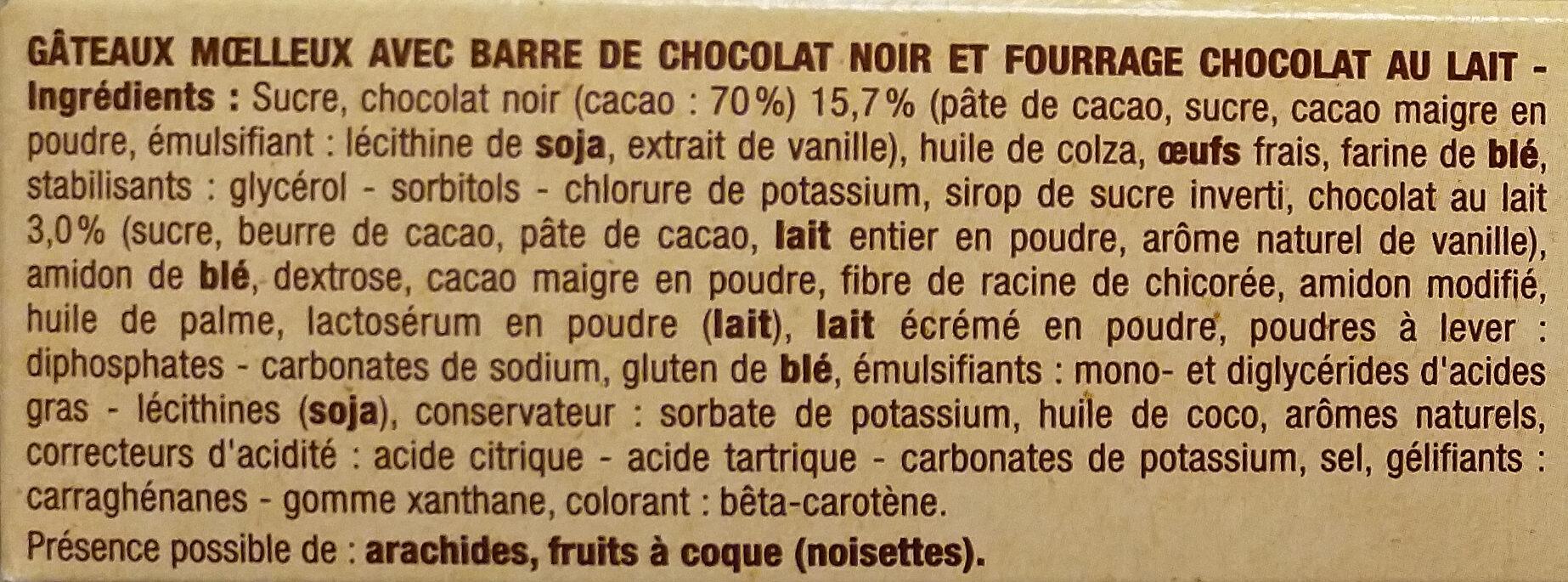 Crac&moi chocolat x5 - Ingrédients - fr