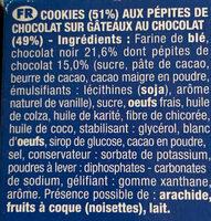 Le brookie pocket - Ingrédients - fr