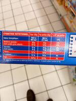 Le brookie pocket - Informations nutritionnelles - fr