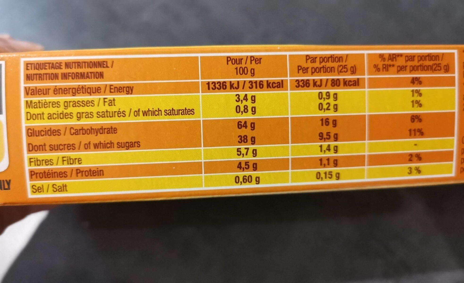P'tit Savane roulo fraise - Informations nutritionnelles - fr