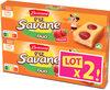 Lt2 p'tit savane duo fraise x6 150g - Produit