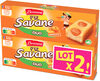 Lt2 p'tit savane duo abricot x6 150g - Produit