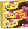 Brossard - lot 3 savane tout chocolat 310 g - Prodotto