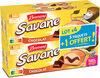 Brossard - lot de 3 savane pocket x 7 chocolat + 1 paquet offert - 840gr - Product