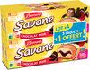 Brossard - lot de 3 savane pocket x 7 chocolat noir + 1 paquet offert - 840gr - Product