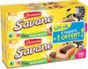 Brossard - lot de 3 savane pocket x 7 cacao noisettes + 1 paquet offert - 756gr - Produit