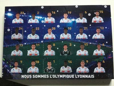 Calendrier de l'Avent Olympique Lyonnais - Product - fr