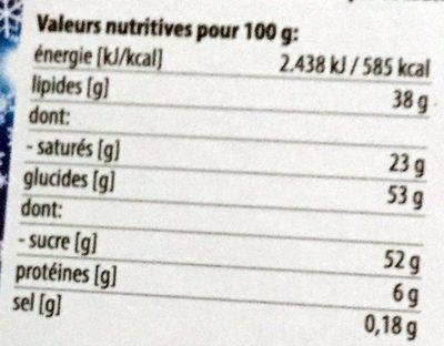 Calendrier de l'Avent Olympique Lyonnais - Voedingswaarden - fr