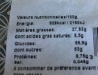 Dragées amande gianduja - Nutrition facts - fr