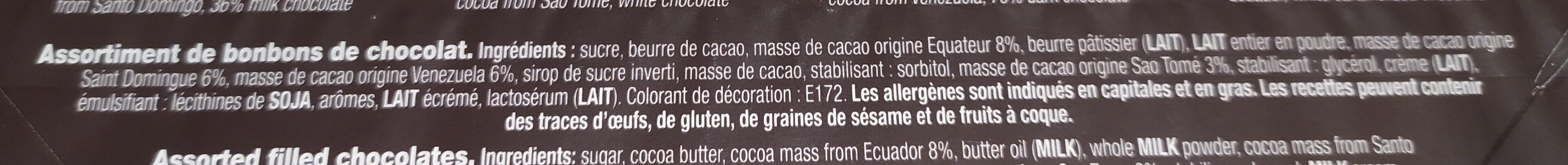 LES PALETS - Ingredients - fr
