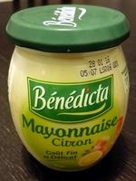 Mayonnaise citron - Prodotto - fr