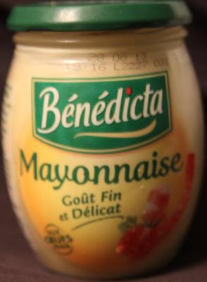 Mayonnaise aux oeufs frais - Produit